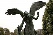pic of wraith  - Monumental Cemetery in the city of Turin - JPG