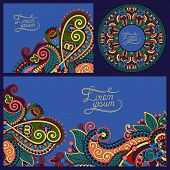 decorative background, template frame design for card