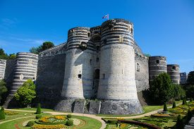 picture of anjou  - Keep at the Chateau d - JPG