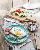picture of whole-grain  - Breakfast set - JPG