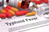 foto of medical injection  - Typhoid Fever  - JPG