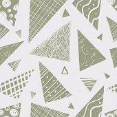 picture of funky  - vector seamless pattern - JPG
