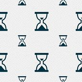 image of sand timer  - Hourglass Sand timer icon sign - JPG