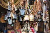 foto of edelweiss  - Decoration Metal bells from Zakopane in Poland - JPG