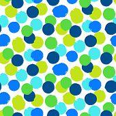 Постер, плакат: Ditsy polka dots