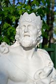 image of garden sculpture  - Statue of King Midas in Summer Garden St - JPG