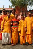Cheerful Hindu Students