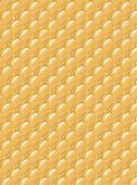 Постер, плакат: Стилизация обивочная ткань с кнопками Цвет фона
