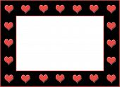 Hearts Galore Frame
