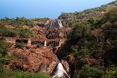 View Of Dudhsagar Falls