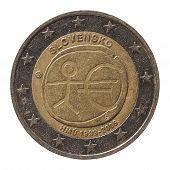 ������, ������: 2 Euro Coin From Slovakia slovensko