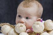 Baby And Garlics
