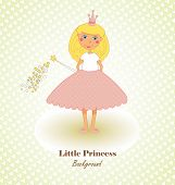 Little Princess Congratulations Card
