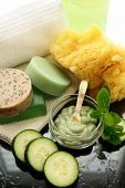 cucumber mint spa treatment