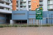Brisbane, Australia - Jan 13 : Flood  Brisbane City Brewery Area Queensland Declared Natural Disater