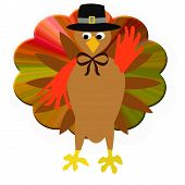 Thanksgiving Turkey Pilgrim