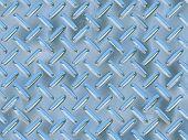Diamond Metal Plate - Digital Illustration