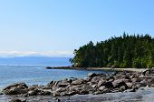 Vancouver Island East Sooke Parque litoral