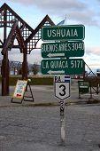 Ushuaia Sign, Argentina