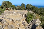 Ancient theater in Greece, Samothraki