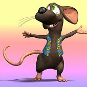 Cartoon Mouse Or Rat #04