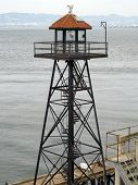 Alcatraz Prison Guard Tower