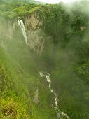 Waterfall Near San Agustin In Colombia