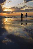 Sunset Beach Walk, Florida