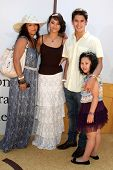 LOS ANGELES - JUL 10:  Mom, Fivel Stewart, Boo Boo Stewart. Sister Sage Stewart arriving at the