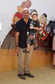 LOS ANGELES - JUL 10:  Michael Papajohn, Sean Papajohn arriving at the