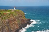 Kilauea Lighthouse On Kauai, Hawaii