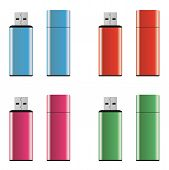 Colored Usb Pen Drives