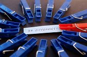 Being Different, Clothespins