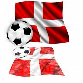 Football Flag Switzerland