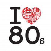 Ich liebe die 80er Jahre