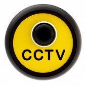 Closed circuit television alert sign