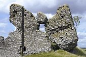 pic of irish moss  - The ruined facade of Clonmacnoise Castle in County Offaly Ireland - JPG