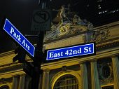 Grand Central Street Signs
