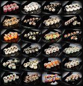 24 Types Of Sushi Rolls