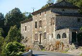 Old Imposing Stone House