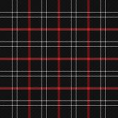Tartan Plaid. Scottish Pattern In Black, Red And White Cage. Scottish Cage. Traditional Scottish Che poster