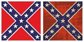 stock photo of rebel flag  - Confederate Battle Flag - JPG