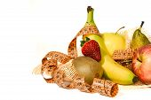 Composition of fruit, concept of balanced diet