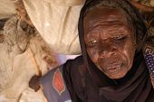 Displaced Woman In Darfur