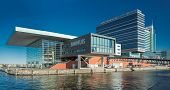 AMSTERDAM - NOVEMBER 27: The Bimhuis concert hall in November 27 2012 is a venue for jazz and improv