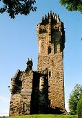 stock photo of william wallace  - this is the william wallace monument in 