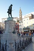 Giuseppe Tartini Monument, Piran