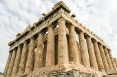 Parthenon at the Acropolis of Athens, Greece