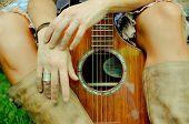 Gitarre, Komposition