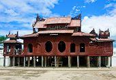 Shwe Yaunghwe Kyaung Monastery, Inle Lake, Myanmar